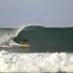 single fining, Punta Conejo
