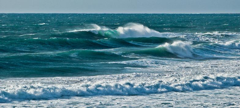 outer break, Ammes Beach