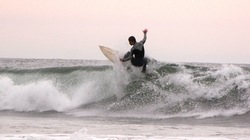 Cristmas day surf, Oceanside Harbor photo