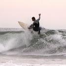 Cristmas day surf, Oceanside Harbor