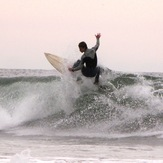Cristmas day surf, Oceanside Harbor