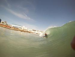 Bodyboarding little bay photo