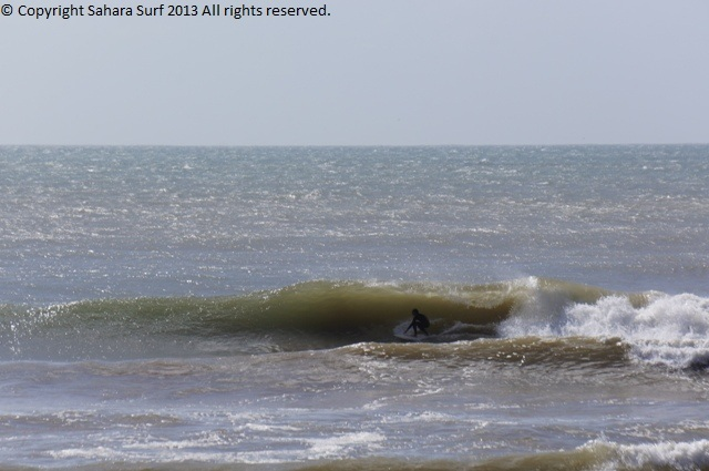 Fun session somewhere south of Taghazout.