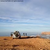 A fun beach break south of Sidi Ifni. Sahara Surf