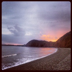 Sidmouth Beach (Jacobs Ladder end) photo