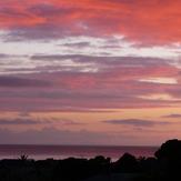 Pink Sunrise, Red Beach