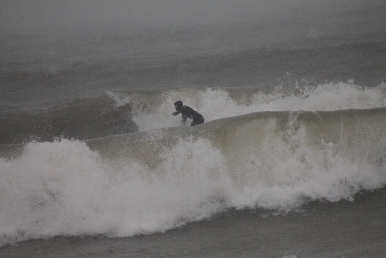 january surf, Sheboygan