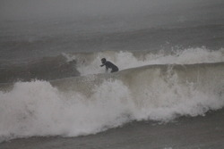 january surf, Sheboygan photo