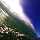 Sunny barrel, Eaglehawk Neck Beach