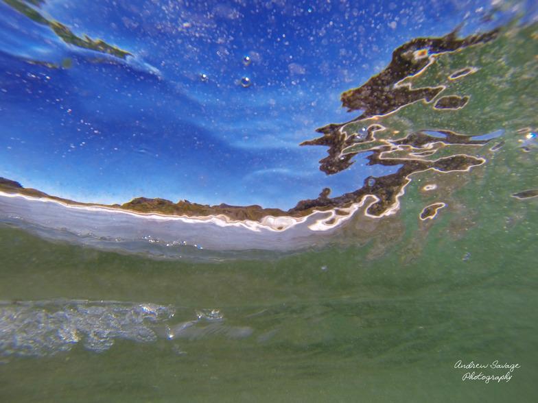Clear barrel, Eaglehawk Neck Beach