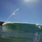Nice little wave, Eaglehawk Neck Beach