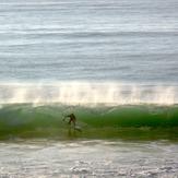 In the Slot, Wainui Beach - Pines