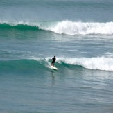 Summer swell, Makorori Point