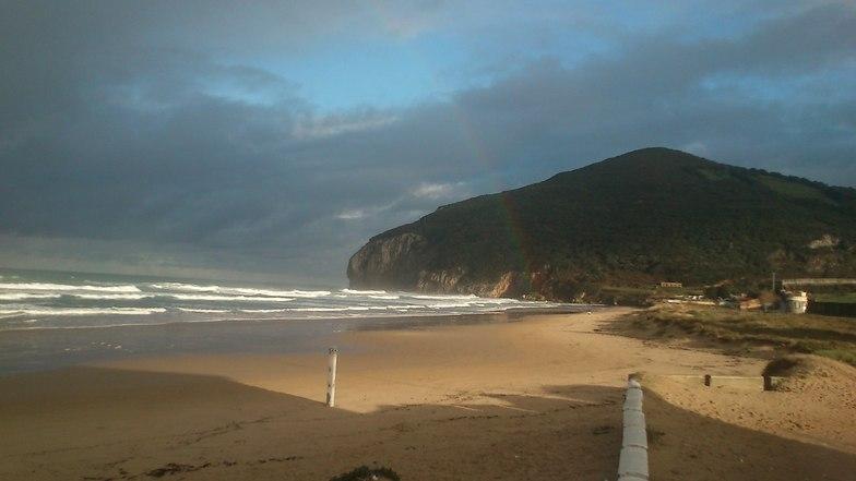 Berria 13-01-13, Playa de Berria