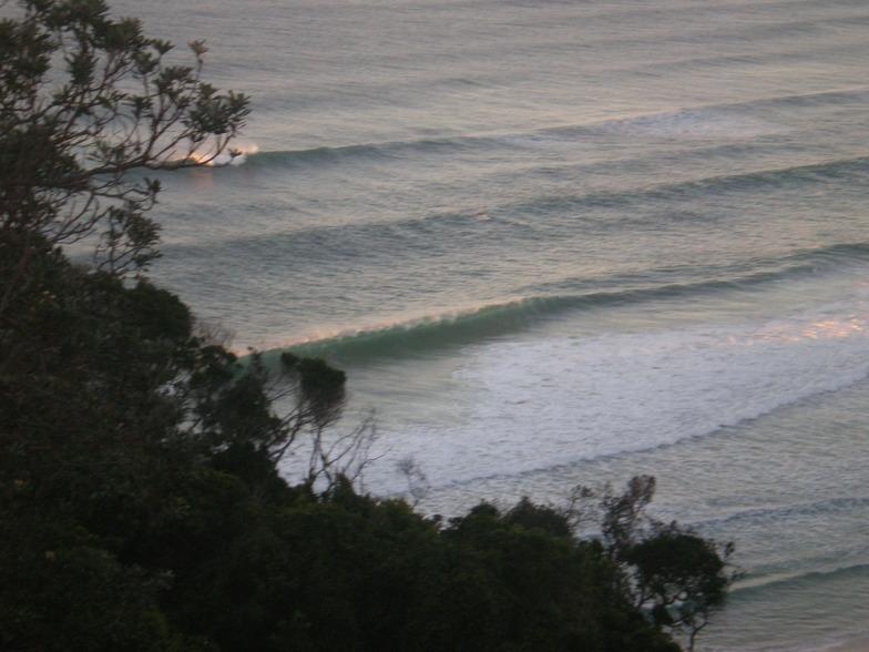 Early surf check, Tallows Beach