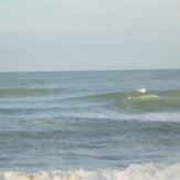 incoming tide, Rapid Creek - Beach