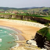 Playa Lhangri-La (Langre-Cantabria), Playa de Langre