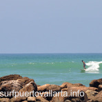 Surfing El Anclote