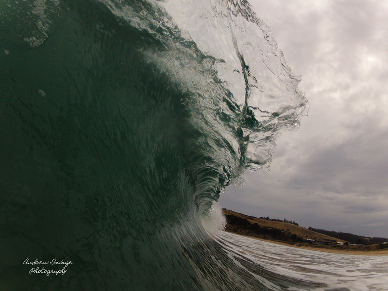 Decent barrel, Clifton Beach