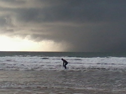 Riding the Storm, Woolacombe photo