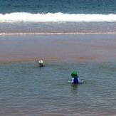 Kids at stockton, Stockton Beach