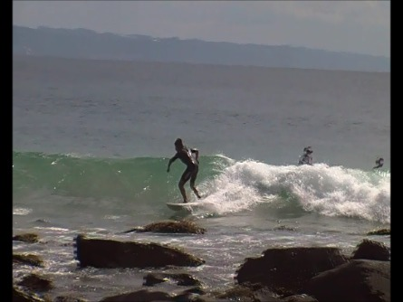 tiny surf, Noosa - Tea Tree Bay