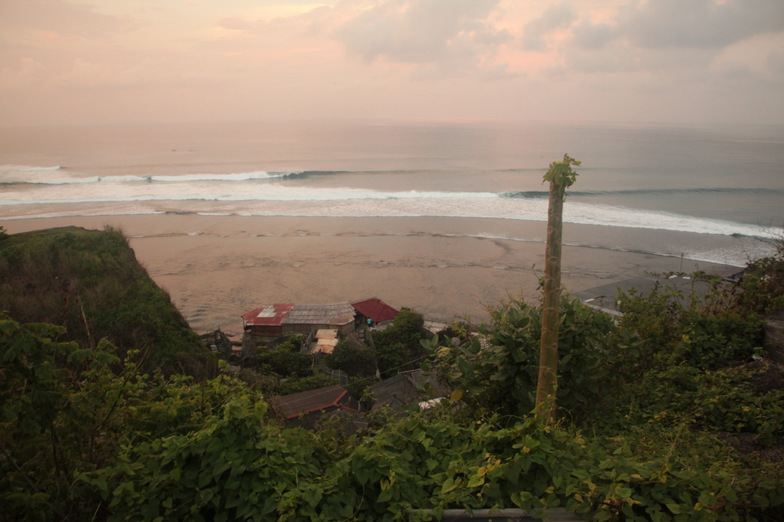 Ulu at dawn, Uluwatu