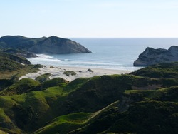 End of Summer, Wharariki Beach photo