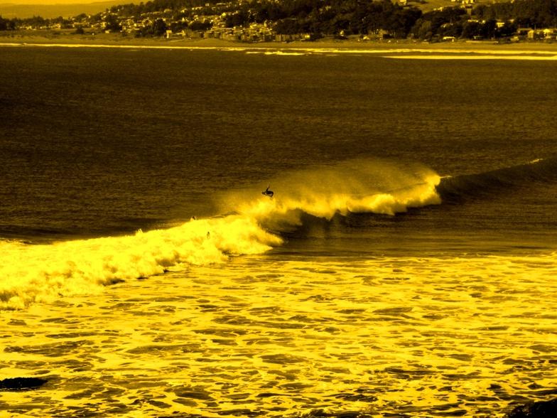 nunca es tarde para reencontrarse con las olas, Punta de Lobos