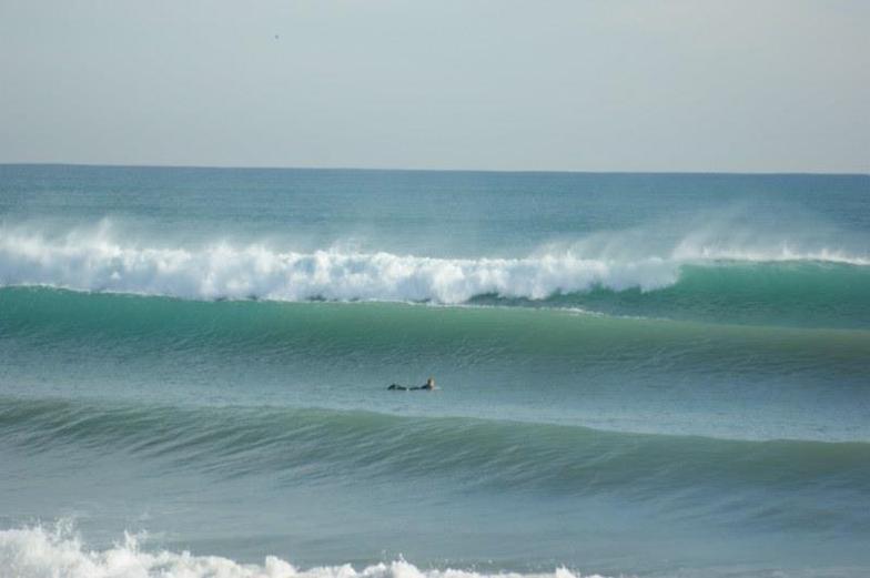 winter swell, La Mata