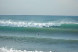 winter swell, La Mata photo