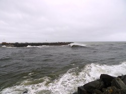 Grey River Left, Cobden Breakwater photo