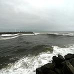 Big Grey River surf, Cobden Breakwater