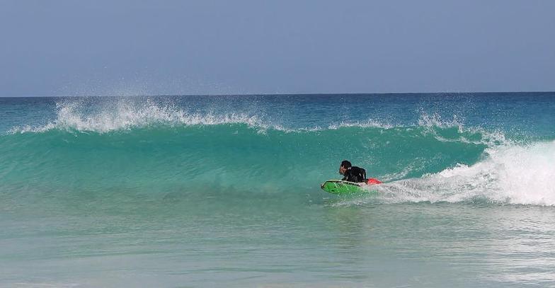 Morillo Cojiendo el tubillo, Playa Grande