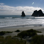 Spring Tide Wharariki, Wharariki Beach