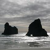 Wharariki Archway Islands, Wharariki Beach