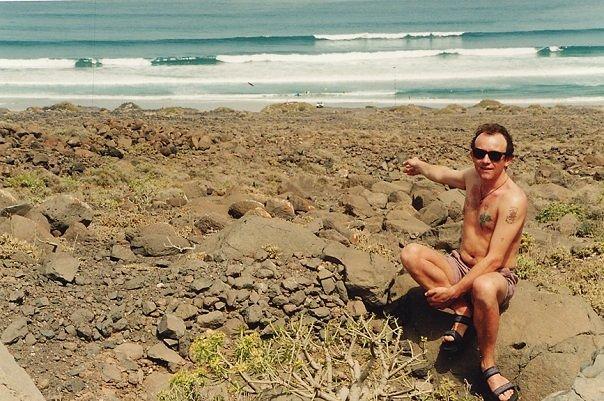 Canaries 1995, Playa de Famara