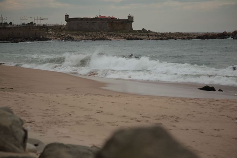 shore dump and Castle, Matosinhos