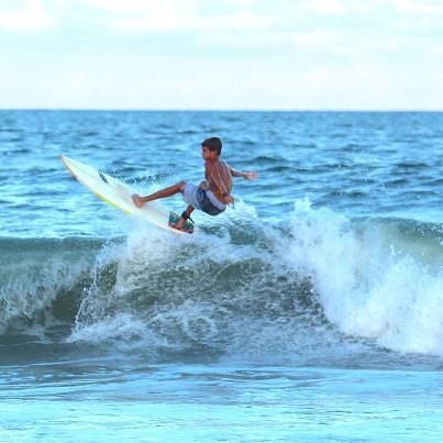 Triston at The PI Pier: Photo By: David Nuckles, The Pier