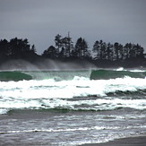 Winter, Long Beach (Tofino Airport)