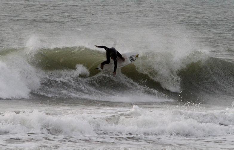 Jhon Palacios Pata Negra surf center El Palmar, Playa El Palmar