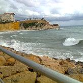 Playa del mal pas, Playa Poniente