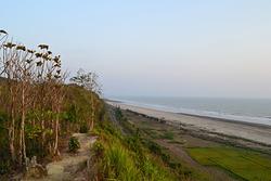 Beach at Barachara area, Cox's Bazar, Bangladesh photo