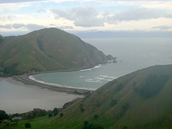 Cable Bay from Pepin Island photo