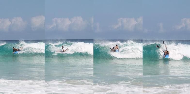 Secuencia 360, Playa Grande