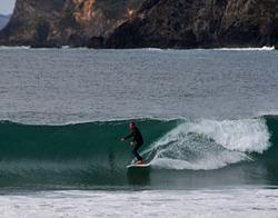 Clean glassy surf at Matauri, Matauri Bay photo