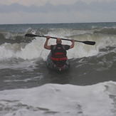 Surf Kayaking, Topsail Island