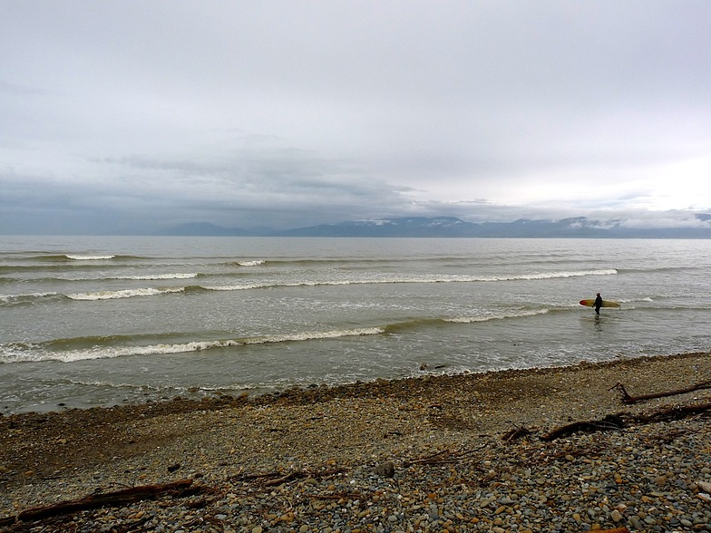 Longboard waves, Ruby Bay