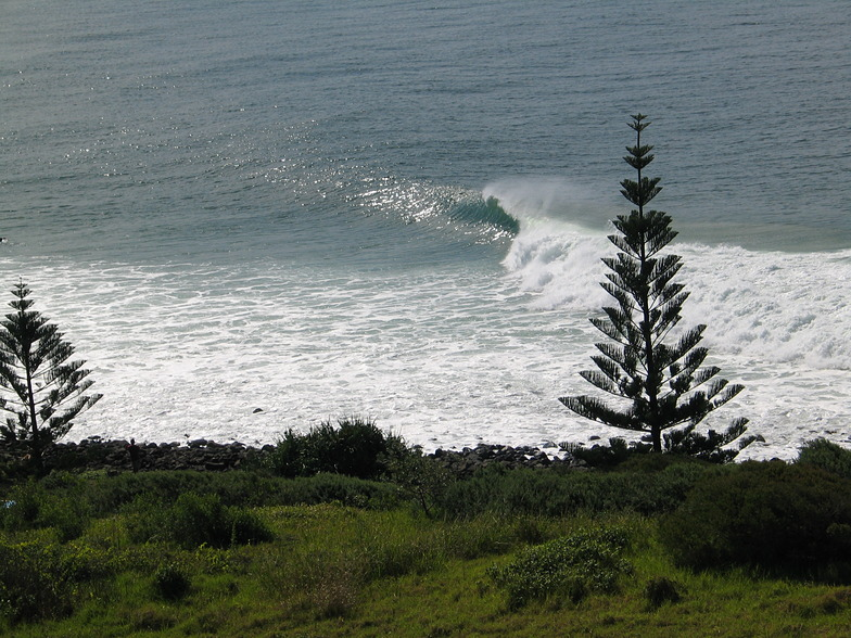 Empty lineup, Lennox Head