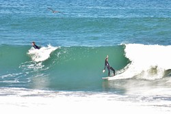 Backward, La Jolla Shores photo